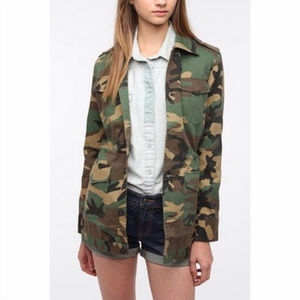 Urban Outiftters By Corpus Camo Utility Jacket, M
